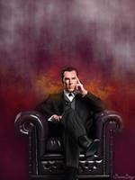 Benedict Cumberbatch - Sherlock by brentonmb