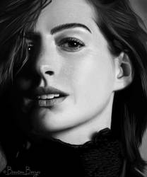Anne Hathaway by brentonmb