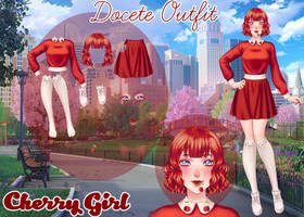 Docete UL Outfit - Cherry Girl (LINK NA DESCRICAO) by LicyAD