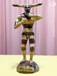 Estatuilla de Kotaix, espiritu ceremonial selknam by museodelassombras