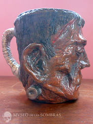 Tazon monstruo del Dr. Frankenstein by museodelassombras