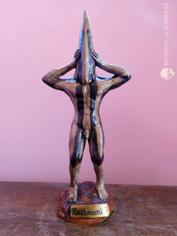 Estatuilla de Koshmenk espiritu ceremonial selknam by museodelassombras