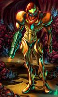 samus aran II by Xmagician20X
