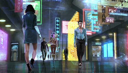 night city by IgorKieryluk