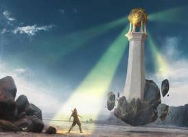 Arcane Lighthouse by IgorKieryluk