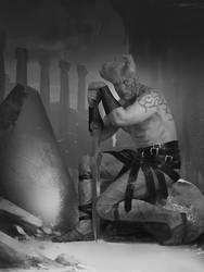 swordsman by IgorKieryluk