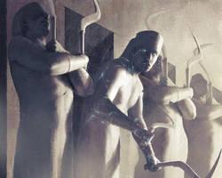 Igor-kieryluk-401572-wall-of-statues by IgorKieryluk