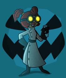 Halloween '16: Professor Squawkencluck by SariSpy56