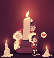 December 10: Candles by SariSpy56