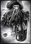 Davy Jones and Tia Dalma by GabrielleGrotte