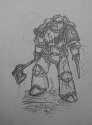 Death Guard destroyer 2 by Sherrypie