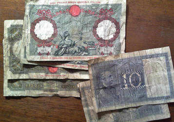 Reproduction WWII Italian Lira by MichaelRMaranda