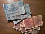 Reproduction WWI Italian Banknotes by MichaelRMaranda