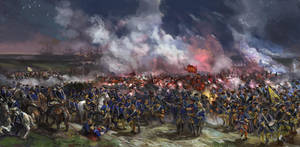 Battle of Stresow 1715 by Mitchellnolte