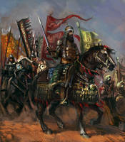 Mighty Saladin by Mitchellnolte