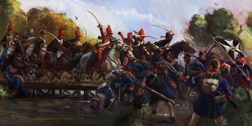 Scourge of War: Wavre by Mitchellnolte