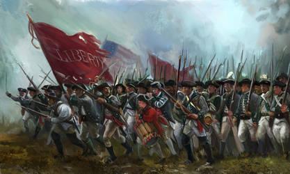 New York Regiment of the Revolutionary War by Mitchellnolte