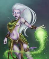 Druidess. by riikozor