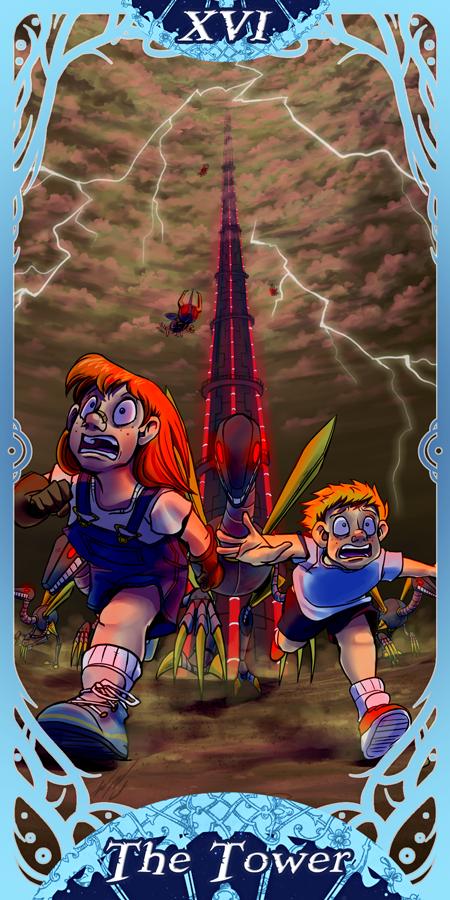 XVI - The Tower by ZaraLT
