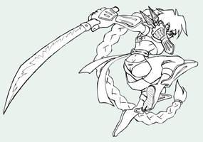 ninja girl Channy by N647