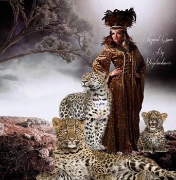 Leopard Queen by virgolinedancer