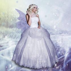 Snow Fairy by virgolinedancer
