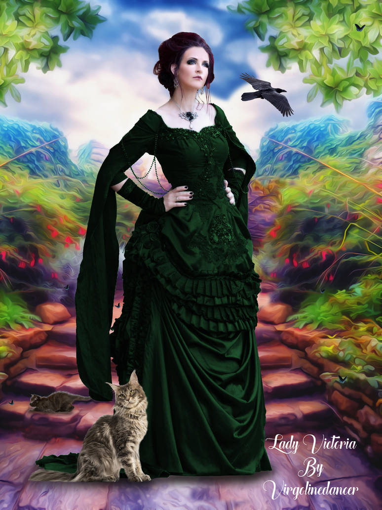 Lady Victoria by Virgolinedancer by virgolinedancer