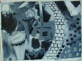 Abstract, 01 by juani-hokshana
