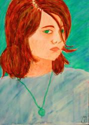 Self Potrait by juani-hokshana