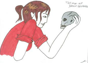 Skull by juani-hokshana