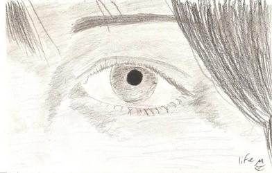 Realistic Eye by juani-hokshana