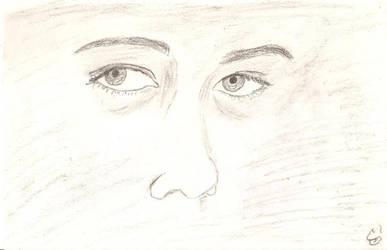 Both eyes, realistic by juani-hokshana