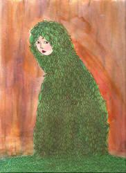 Leaf Cloak by juani-hokshana