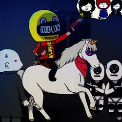 Super Kobra Kid to the rescue by Haku-Ellie