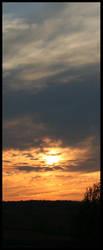 Sunset Pano by Jeremyti