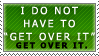 I Don't Have To Stamp by Spikytastic