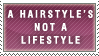 Hairstyle-Lifestyle Stamp by Spikytastic