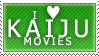 Kaiju Love Stamp by Spikytastic