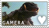 Gamera Stamp by Spikytastic
