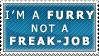 Furry, not a Freak-job by Spikytastic