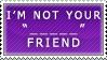 Token Minority Friend Stamp by Spikytastic
