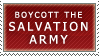 Salvation Army? Stamp by Spikytastic