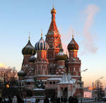 St. Basil's in the Moscow by alegas