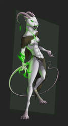 White Rat -AUCTION/SOLD- by Celeun