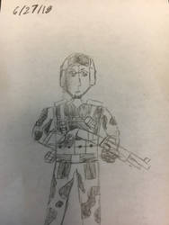 (3) Rebel Marine Recon (Shotgunner w/Helmet) by Rawflesh0615A