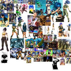 3rd Leona Heidern Collage by Rawflesh0615A