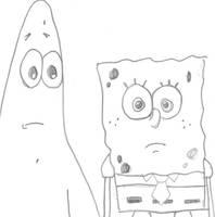 Spongebob and Patrick by iLoveSpongebob