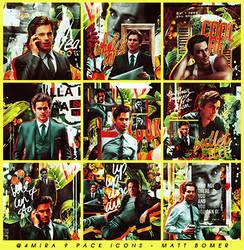 9 Matt Bomer Icon Pack by 4mira