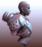 Boy cyber suit WIP by 3eof