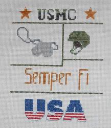 Marine Cross Stitch by FireWings26